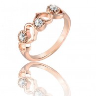 Italina Rigant Plated Womans Ring