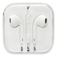 White Ear pods Remote Mic For iPhone 4