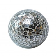 Silver Shiny Deco Ball