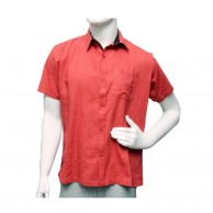 Ice Shirt Short Sleeve - Indian Red