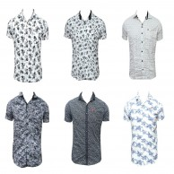 Multi Design Men's Shirt 6 Bundle Pack
