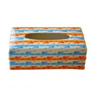 Colorful Ceramic Tissue Box