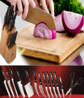 13-Piece Miracle Knife Set