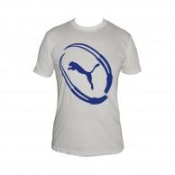 Men's Puma White T-Shirt
