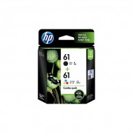 HP 61 2-pack Black and Tri-color Original Ink Cartridges CR311AA