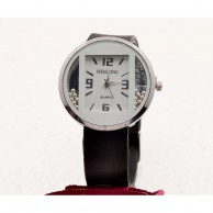 Black Ladies Girls Wrist Watch