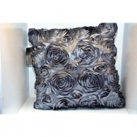 Rose Designed Cushion Cover