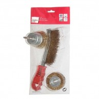 Wire Brush 3Pc Set