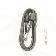 TV Video Lead 150Cm Cable With F Plugs