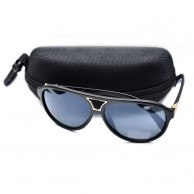 Black Shaded Fashion Sunglass With Pouch