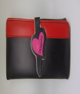 Pnik and Black Wallet For Women