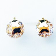 Stone Covered Designer Earring EZE058