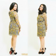 Floral shift dress - C005