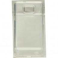 Samsung Galaxy S2 Premium Big Camera Hole Clear Jelly HJEL 1410