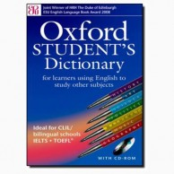 Oxford Student's Dictionary with CD B030965