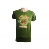 Green Color Crew Neck Tshirt