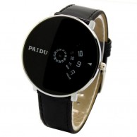 Paidu Turntable Black Dial Watch