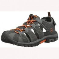 Hi Tec Shore JR Sandal Charcoal Grey and Tangello