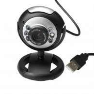 High Quality USB Web camera With 6 LED Flash Auto Drivers