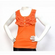 Orange Lace Skinny