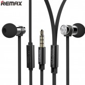 REMAX Brand RM-565i Stainless Steel Stereo In-ear Earphone With Mic
