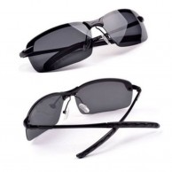 Black Shades Polarized Aviator Sunglasses