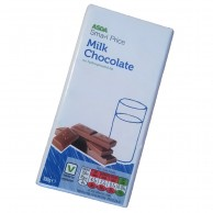 Asda Milk Chocolate 100g