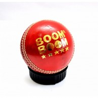Boom Boom Cricket Leather Ball