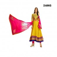Heavy Designer Yellow Salwar 24005