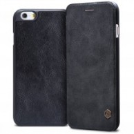 iPhone 6s black Leather Case