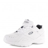 Hi Tec XT115 JR Trainer Shoe White And Navy