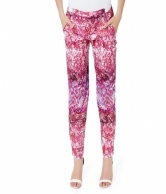 GEO FLORAL PULL-ON  PANTS AVPT100146