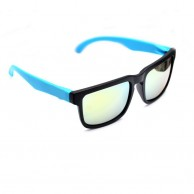 Blue Casual Mens Fashion Sunglasses With Pouch