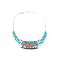 Geometric Rainforest Collar LCNGRC