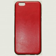 iPhone 6 Leather Back Jelly Case HJEL 1476R
