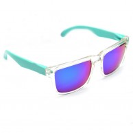 Blue Shaded Casual Mens Sunglasses With Pouch