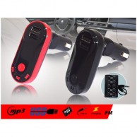 MP3 Player with FM Radio and Dual USB Car Charger