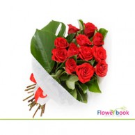 15 Red Roses Bunch RM030