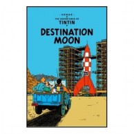 TINTIN and Destination Moon B590011