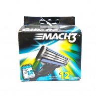 Gillette Mach3 12 Cartridges
