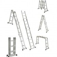 Adjustable Ladder 4 7 M With Plate