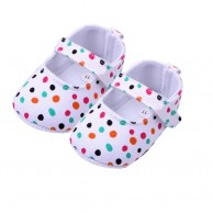 Baby Dot Canvas Infant Shoes BG025