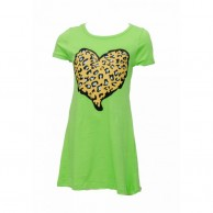 Girl Buger Frock Designed - Green