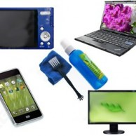 LCD, LED, Plasma, Mobile Displays and CD/DVD/Blue-ray Cleaning Kit