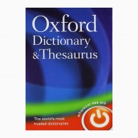 Oxford Dictionary & Thesaurus Hard Cover B031270