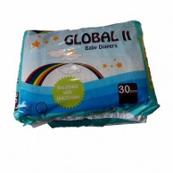Global II Baby Diapers Medium 30 pcs
