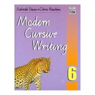 Modern Cursive Writing Book-6 B130619