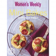 Womens Weekly Mini Bakes Savoury Sweet