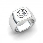 ENGRAVE-ABLE GENTS RING