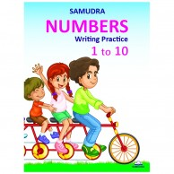 Samudra Numbers Writing Practice 1 To 10 L140160